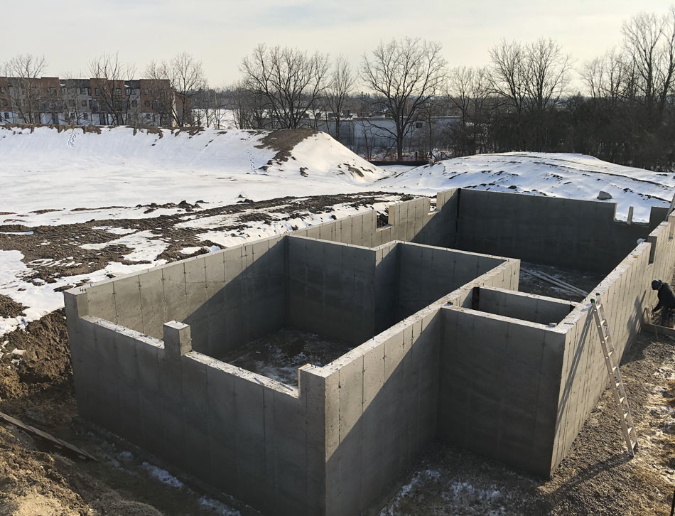 Residential Concrete Forming Foundations